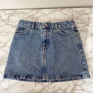 Vintage Calvin Klein Denim Mini Skirt